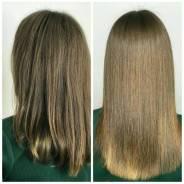 Кератиновое выпрямление Ботокс для волос Нанопластика