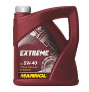 Mannol Extreme. Вязкость 5W-40, синтетическое