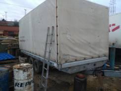Humbaur. Прицеп-тандем, 3 000 кг.
