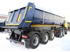 Амкар 9576. Новый самосвальный полуприцеп 24м3 / 25 тонн, 25 170 кг. Под заказ