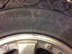 Продам грязевые колеса на диска антарес. x16 5x139.70