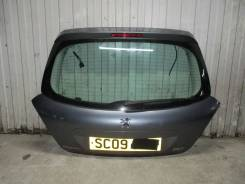 Крышка багажника. Peugeot 207, WB, WC, WA Двигатели: EP6, EP6C, TU3A, ET3J4