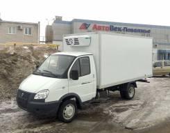 ГАЗ ГАЗель Бизнес. Газель Бизнес ГБО изотермический фургон с ХО, 2 700 куб. см., 1 500 кг.
