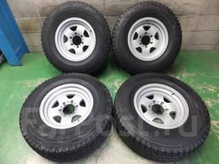 Почти без износа Bridgestone DM-V1 265/70/16 на литье Berg 10/8/16. 8.0x16 6x139.70 ET10