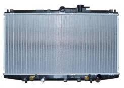 Радиатор охлаждения двигателя. Honda Accord, CF4, CF3, CF6, CF5, CF7, CL1, CF2, CG9, CG7, CL3, CL4, CH6, CH9, CH1, CH5, CL2, CH7, CG8 Honda Torneo, CF...