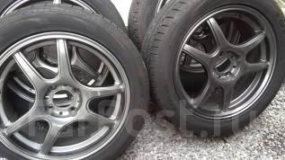 Комплект колес 205/50R16 TOYO DRB на литье Black Racing PRO S1. 6.5x16 4x100.00 ET45