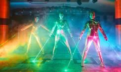 Лазерное танцевальное шоу