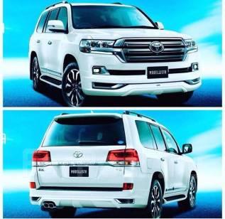 Обвес кузова аэродинамический. Toyota Land Cruiser, UZJ200W, GRJ200, VDJ200, J200, UZJ200, URJ200, URJ202W, URJ202 Двигатели: 2UZFE, 1GRFE, 1VDFTV, 3U...
