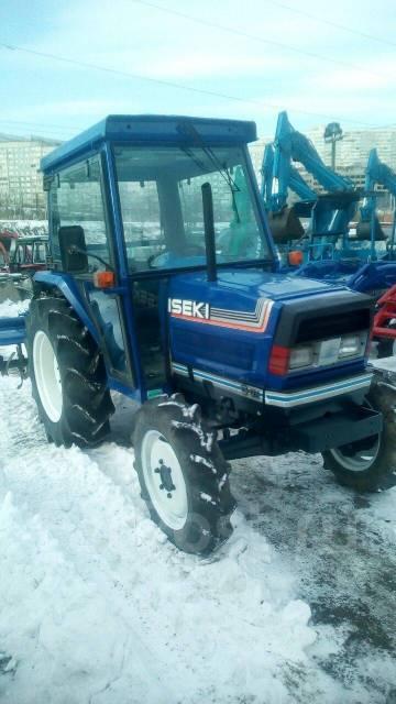 Iseki. Трактор с ПСМ 37лс