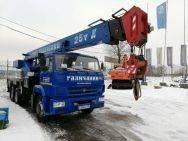 Галичанин КС-55713-1. Кран автомобильный КС-55713-1 на шасси Камаз 65115-L4, б/у (2015 г. ), 6 700 куб. см., 25 000 кг., 30 м.