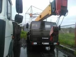 Камаз. Автокран , 10 850 куб. см., 20 000 кг., 21 м.
