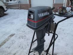Yamaha. 8,00л.с., 2-тактный, бензиновый, нога S (381 мм), Год: 2002 год