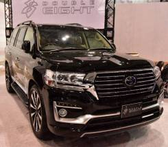 Передний Бампер Double Eight Toyota Land Cruiser 200 2016+