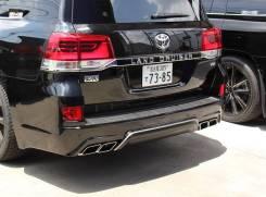 Бампер. Toyota Land Cruiser, GRJ200, J200, URJ200, URJ202, URJ202W, UZJ200, UZJ200W, VDJ200 Двигатели: 1URFE, 1VDFTV