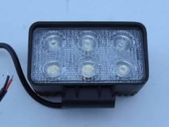 Фара светодиодная серии X006-18W универсальная 6 диодов