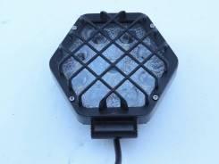 Фара с фарозащитой светодиодная 3D серии LBS875-27W универсальная