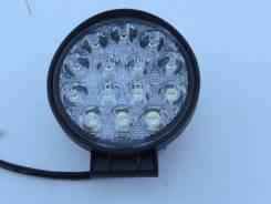 Фара светодиодная серии P019-42W универсальная круглая 14 диодов