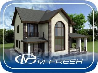 M-fresh Fazenda (Покупайте сейчас проект со скидкой 20%! ). 200-300 кв. м., 2 этажа, 5 комнат, бетон