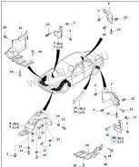 Брызговики. Kia Mentor Kia Spectra Kia Shuma Kia Sephia Двигатель D4BB