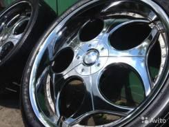 """Хром колёса: Dolce 9JxR24 PCD 5x139,7/114,3 ET 20 DIA. 9.0x24"""" 5x114.30, 5x139.70 ET20"""