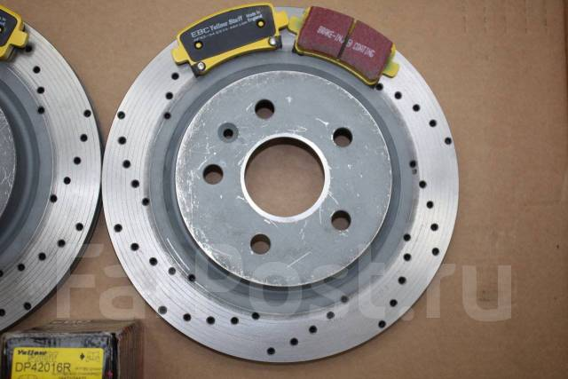 Колодка тормозная дисковая. Opel Insignia