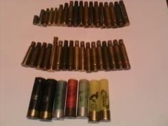Подборка винтовочных и ружейных гильз, в т. ч. редкие, обмен