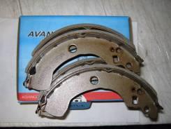 Колодка тормозная барабанная. Nissan Almera, N16E, N16 Nissan Primera, P11E Двигатели: QG15DE, K9K, GA16DE, CD20T, QG18DE, QG16DE