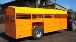 Спецавтотехника ТПС-6. Тракторный прицеп САТ ТПС-6 для перевозки скота! (скотовоз), 6 000 кг.