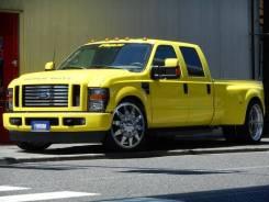 Ford F350. автомат, задний, 6.8, бензин, 32 тыс. км, б/п, нет птс. Под заказ