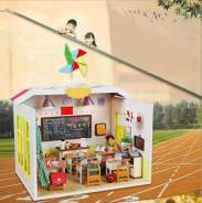 Миниатюрные домики для интерьера - отличный подарок для творчества