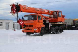 Галичанин КС-55713-1В-4. Автокран КС-55713-1В-4, 10 000куб. см., 25 000кг., 30,00м.