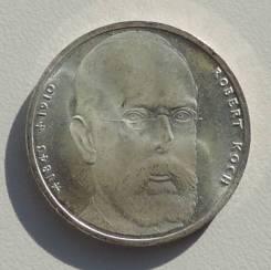 10 марок. Германия. Роберт Кох 1993J