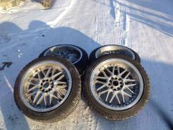 Колеса Manaray Sport MJ9 Super Edition!. 8.5/9.5x17 5x114.30 ET-46/-46 ЦО 70,0мм.