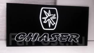 Табличка. Toyota Chaser
