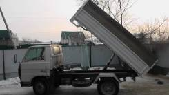 Переоборудование грузовика бортового, фургон под самосвал.