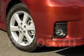 Клык бампера. Toyota Corolla Rumion