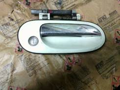 Ручка двери внешняя. Nissan Bluebird Sylphy, FG10 Двигатель QG15DE