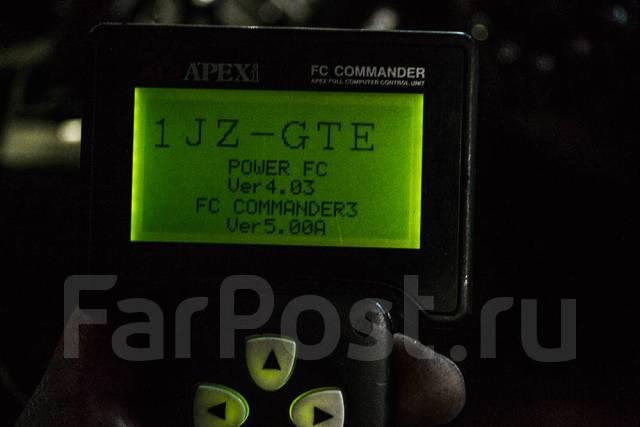 Apexi Power FC 2Jzgte / 1Jzgte + коммандер. Jeep Commander Toyota Cresta, JZX100 Toyota Chaser, JZX100 Toyota Supra, JZA80 Двигатели: 1JZGTE, 2JZGTE...
