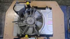 Радиатор охлаждения двигателя. Toyota Belta, KSP92 Двигатель 1KRFE
