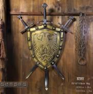 Щит с мечами