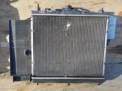 Радиатор охлаждения двигателя. Nissan March, K12 Двигатели: CR12DE, CR12