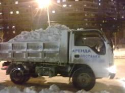 Уборка и вывоз снега самосвалами