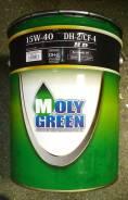 Moly Green. Вязкость 15W-40, синтетическое