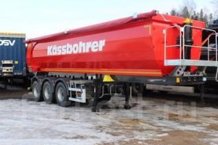 Kassbohrer. Самосвальный полуприцеп самосвал DL 22 м3, 33 100 кг.