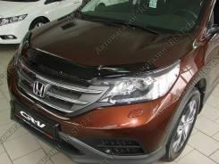 Дефлектор капота. Honda CR-V, RE5, RM4 Двигатели: R20A9, K24Z7