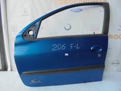 Дверь боковая. Peugeot 206, 2A/C, 2B, 2A, C