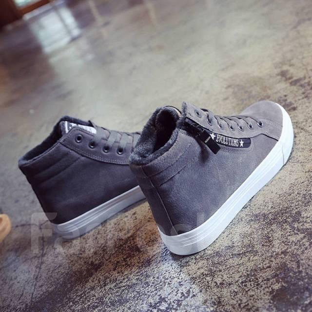 c4265b179b78 Модные ботинки зимние женские. Серый цвет - Обувь во Владивостоке