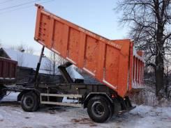 Meusburger Новтрак. Самосвальный прицеп, 26 000 кг.