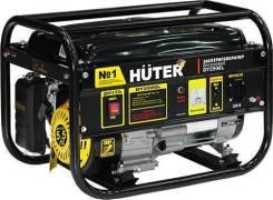 Генератор бензиновый Huter DY2500L, 2,2 кВт, 1,1л/ч, бак 15л, 41 кг