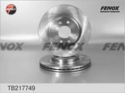Диск тормозной передний RENAULT Logan 06-, Sandero 08-, Clio 91-05 TB217749 fenox TB217749 в наличии